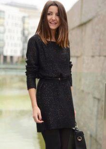 Офисное платье для осенне-зимнего периода