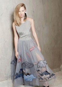 Платье из органзы на каждый день