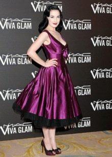 Дита фон Тиз в платье рокабилли