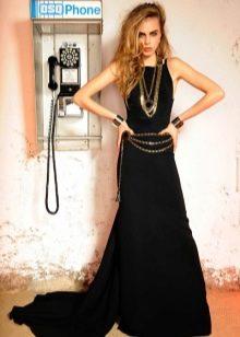 Платье в стиле глем рок