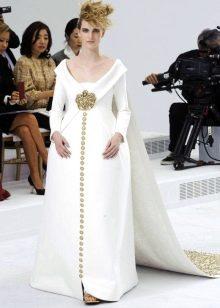 Свадебное платье от Шанель  в пол