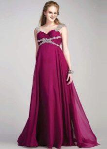 Платье для беременных греческое фиолетовое