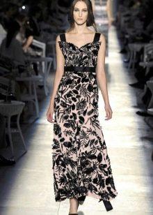 винтажное платье от Chanel в пол