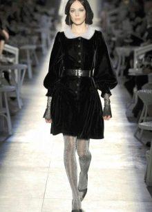винтажное платье от Chanel короткое