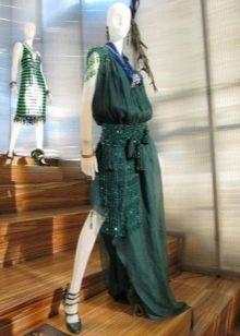 Винтажное платье 20-х годов в пол