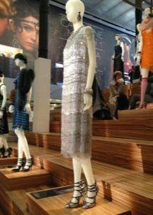 Винтажное платье 20-х годов короткое
