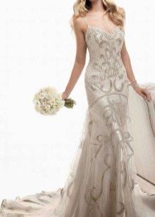Винтажное платье русалка