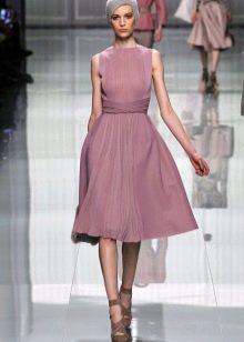 Винтажное платье а-силуэта