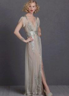 Винтажное платье в стиле арт-деко