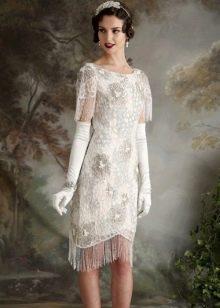 Винтажное короткое платье