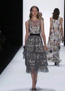 Винтажное платье от Badgley Mischka