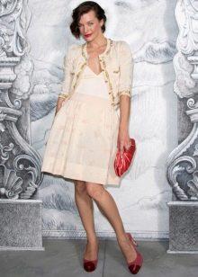 Обувь и клатч к платью в ретро стиле