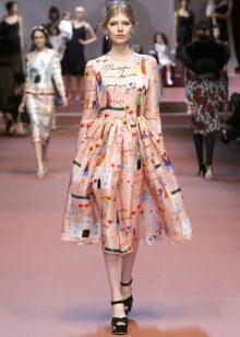 Винтажное платье от Dolce & Gabbana в стиле нью лук