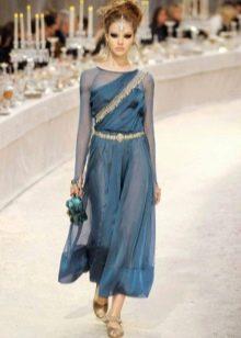 Шифоновое платье в восточном стиле