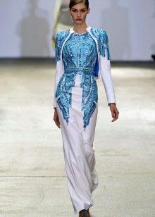 Платье в восточном стиле от Антонио Берарди