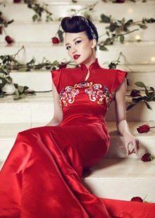 Платье в восточном стиле