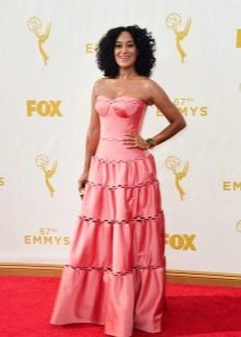 розовое платье для зрелых женщин
