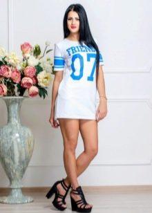 Спортивное платье с номером