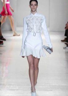 Платье-рубашка от Виктории Бэкхэм