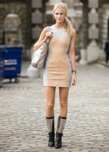 Обувь под спортивное платье телесного цвета