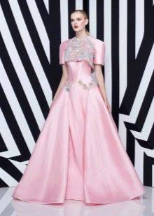 Платье цвета кашемировой розы