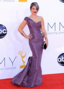 Фиолетовое платье русалка