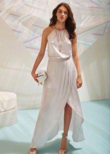Платье с американской проймой летнее