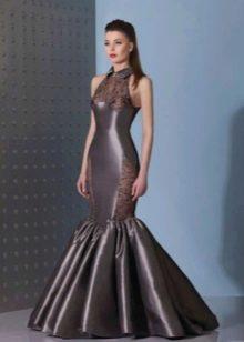 Платье русалка с американской проймой