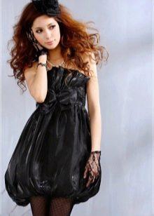 Платье с юбкой баллон