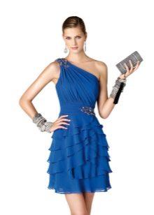 Греческое коктейное платье