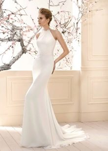 Платье с американской проймой свадебное
