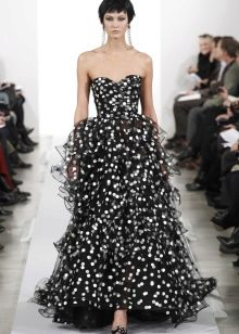 Вечернее платье смок