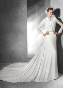 Свадебное платье рубашка