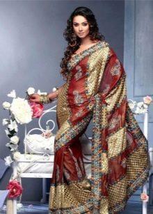 Платье сари национальное