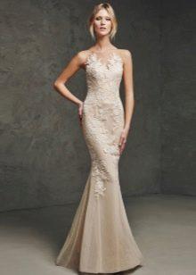 Платье русалка кружевное