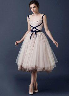 Платье пачка миди