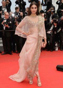 Платье сари современное