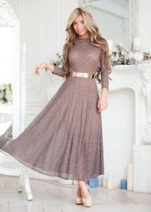 Платье миди для офиса