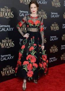 Платье с цветочным принтом для женщин цветотипа Лето