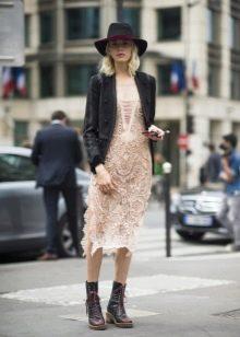 Пиджак под кружевное платье