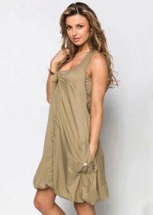 Платье-баллон для стройных