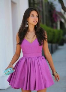 Хлопчптобумажное платье бэби долл