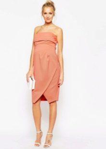 Платье футляр для беременных