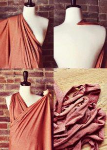 Моделирование платья ампир для беременных