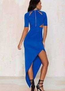 Платье из неопрена с вырезами