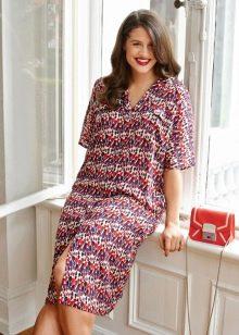 Платье-рубашка для дома
