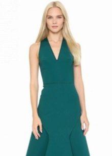 Платье с небольшой американской проймой
