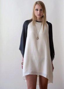 Платье с рукавом реглан для женщин с широкими бедрамии