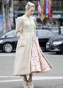 Пальто к платью Татьянка