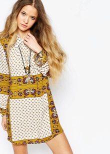 Платье-туника этническая